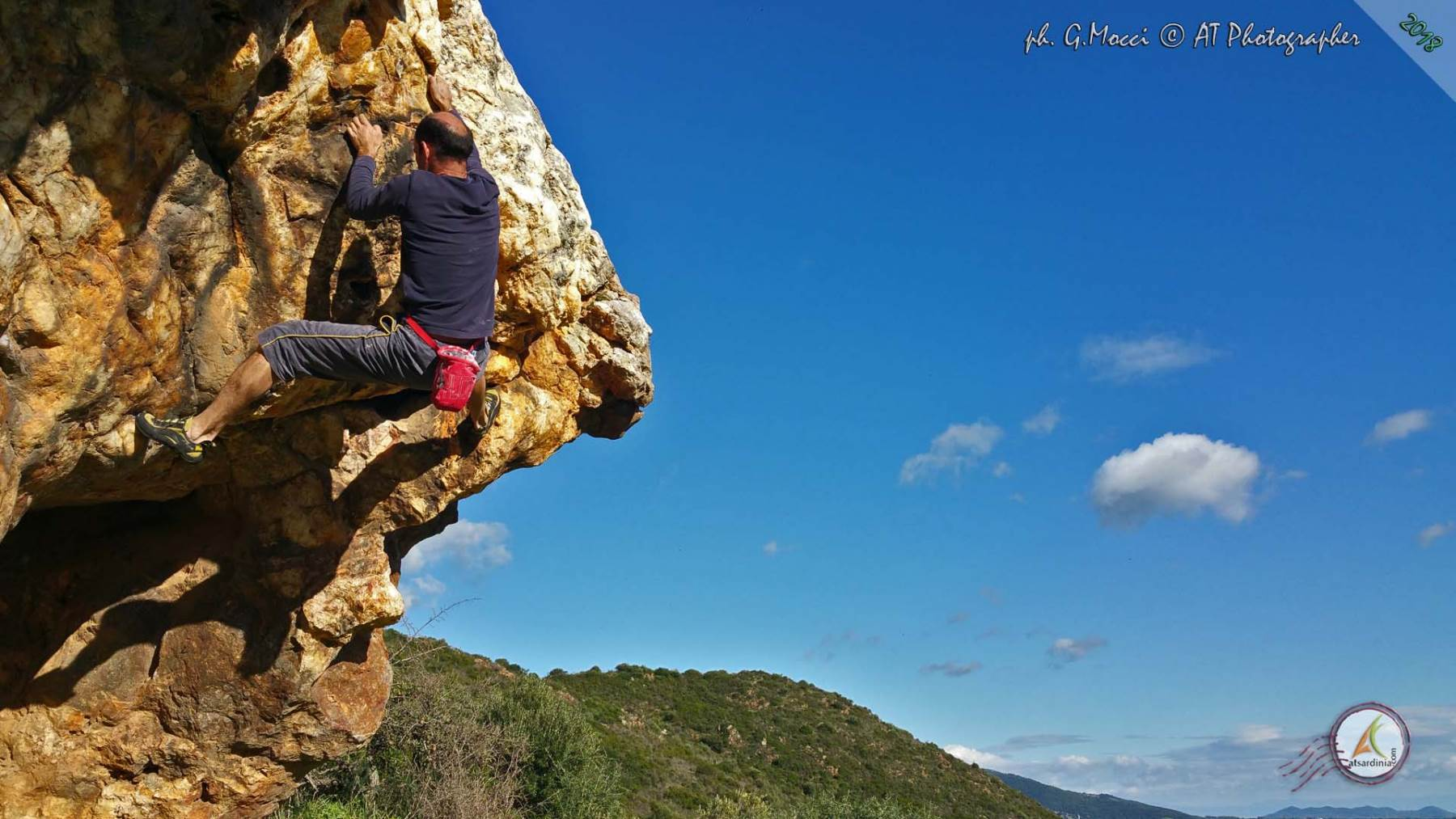 Domusland, una nuova area boulder - Giampaolo Mocci